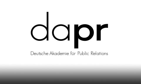 Logo: DAPR (Deutsche Akademie fü Public Relations)