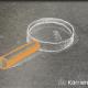 Kreidezeichnung auf Schiefertafel: Lupe; Thema: Mentorenauswahl