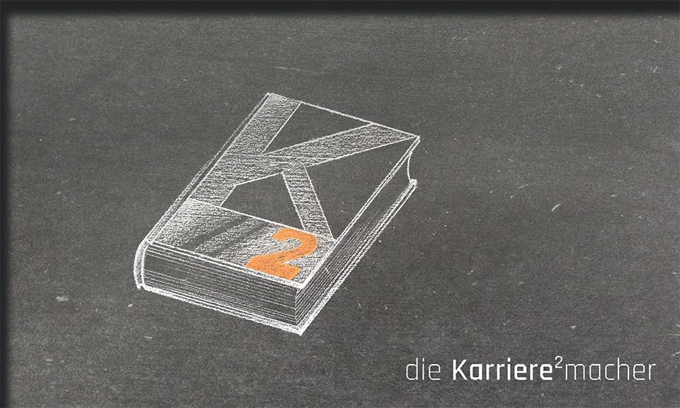 Kreidezeichnung auf Schiefertafel: Buch