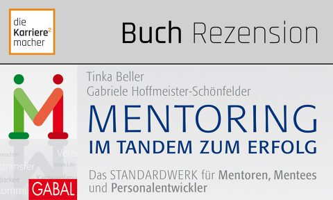 Rezension: Mentoring - im Tandem zum Erfolg (Ausschnitt des Buchdeckels)