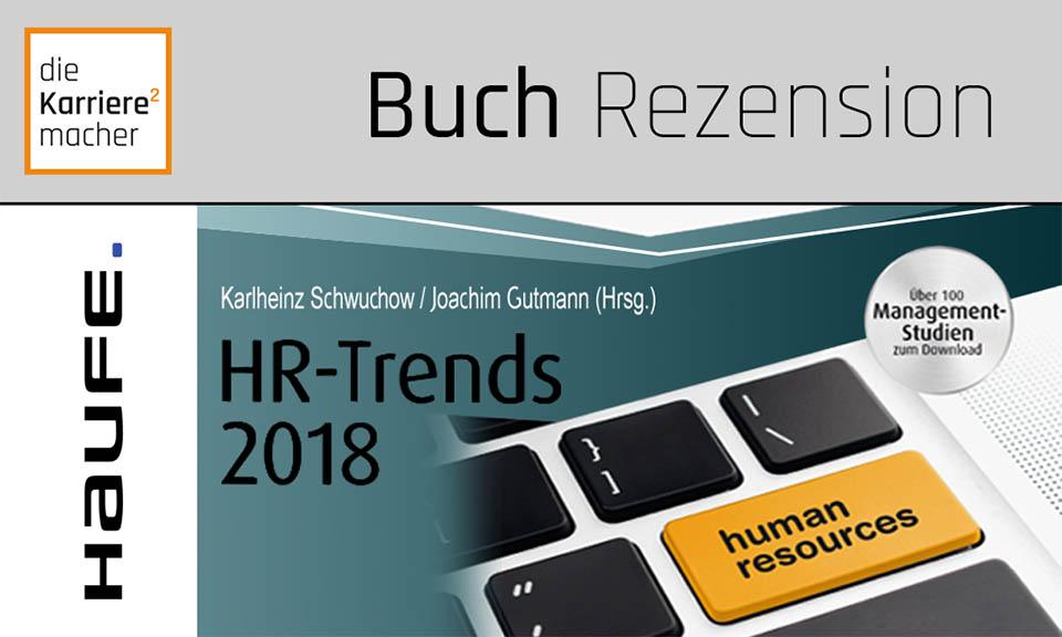 Rezension HR-Trends 2018 (Ausschnitt des Buchdeckels)