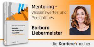 Foto: Mitautorin Barbara Liebermeister des Buches Mentoring - Wissenswertes und Persönliches