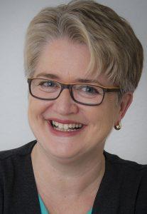 Portraitfoto: Mentorin und Mitherausgeberin Manuela Seubert