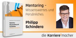 Foto: Mitautor Philipp Schindera des Buches Mentoring - Wissenswertes und Persönliches