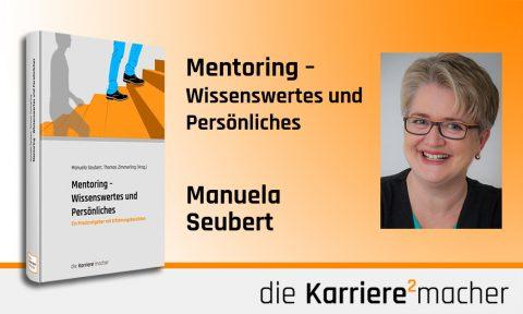 Foto: Mitautorin und Mitherausgeberin Manuela Seubert des Buches Mentoring - Wissenswertes und Persönliches