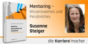 Foto: Mitautorin Susanne C. Steiger des Buches Mentoring - Wissenswertes und Persönliches